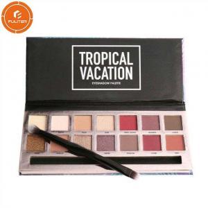 China Custom wholesale eye shadow box makeup professional eye shadow palette box on sale
