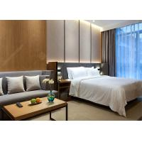 Wholesale Modern Laminate Hotel Bedroom Furniture Sets Optional Size Plywood MDF Materials from china suppliers