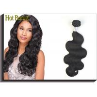Wholesale Unprocessed One Donor Peruvian Body Wave Hair Extensions 10 Inch - 30 Inch from china suppliers