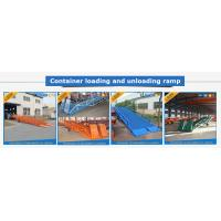 Adjustable Warehouse Loading Ramp Electric Container Yard Ramp