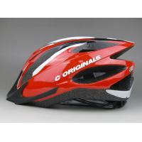 Quality Custom Specialized Adult Bicycle Helmet Red PC Shell Antibacterial Pad for sale