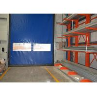 Wholesale Fast open speed soft PVC rolling overhead doors , gravity down running from china suppliers
