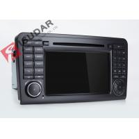 Wholesale Mercedes Benz Car Audio Gps Navigation , Mercedes Ml Dvd Player With Dual CANbus from china suppliers