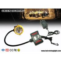 Wholesale 348 Lum Explosion Proof Rechargeable Miners Headlamp / IP68 Waterproof Mining Cap Lights from china suppliers
