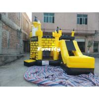 Wholesale 5 * 5 * 4.5 m Colorful Inflatable Combo Bouncers Jumping Castle With En 14960 from china suppliers