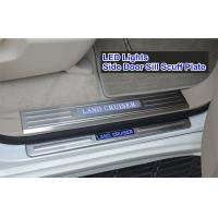 Wholesale TOYOTA Land Cruiser FJ200 2008 -2014 LED Light Stainless Steel Side Door Sill from china suppliers