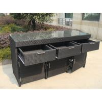 Wholesale Aluminum Frame And Resin Wicker Bar Set Bar Table For Indoor from china suppliers