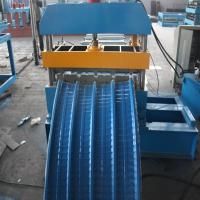 Wholesale Curving Hydraulic Bending Machine 1250mm Width Colored Steel Plate for Shelving 20° Angle from china suppliers