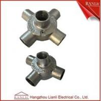 Quality Malleable Round Four Way Junction Box For BS4568 BS31 Conduit for sale