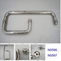 Wholesale SUS304 Polished Chrome shower handle / glass door handle N0596 ,N0597 from china suppliers