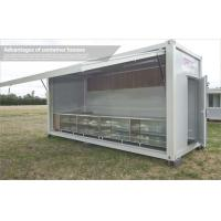 Wholesale 20ft Standard Modular Storage Container Shop / Canteen With Light Steel Expansible Panel from china suppliers