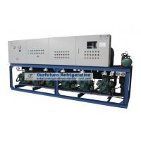 Wholesale Cold Room Compressor Unit For Seed Processing with R404a Bitzer 30HP*3 piston compressor from china suppliers