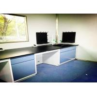 Quality C Frame Steel Lab Bench High Durability Solid Phenolic Worktop Integrated Design for sale