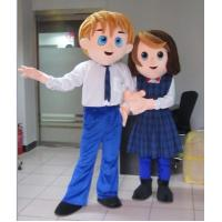Wholesale adult plush customized cartoon character cuple costumes from china suppliers