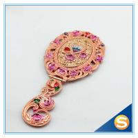 Wholesale Shinny Gifts Heart Shape Hand Mirror Portable Mirror Gift Set from china suppliers