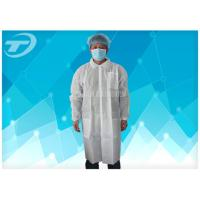 Wholesale Waterproof Protective Medical Disposable Visitor Coats PE With Different Size from china suppliers