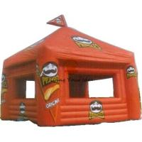 Wholesale 5*5*5m Inflatable Dome Tent Orange With Customized Shape For Celebration from china suppliers