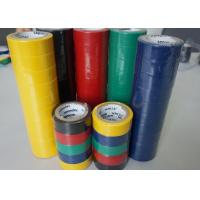 Wholesale PVC Wire Harness Tape Rubbber Adhesibe Electrical Insulating Tape Black / Green Matte Film from china suppliers