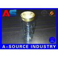Wholesale Clear Adhesive 10ml Vial Labels Water Bottle Labels Transparent Ampoule Label Printing from china suppliers