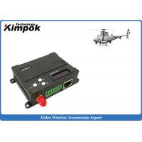 Wholesale 1W RF UAV Video Link Transceiver TDD - COFDM Wireless Image Sender and Receiver Lightweight from china suppliers