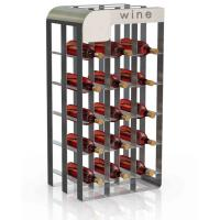 Buy cheap Wine drink display rack from wholesalers