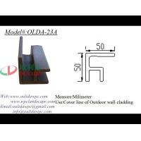 Wholesale exterior wall cladding corner cover line OLDA-23A 50*50mm from china suppliers