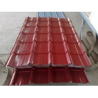 Wholesale Green Recycable Metal Roofing Sheet , Coloured Roofing Sheets from china suppliers