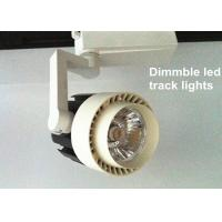 Quality High power Spot led track lighting fixtures For Supermarket , White for sale
