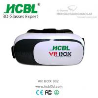 Wholesale 2nd generation Virtual reality 3D glasses , VR headset box 2.0 google cardboard from china suppliers