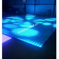 Wholesale Rgb Club Dance Floor Hire , Durable Transparent Glass Disco Dance Floor Lighting Smd5050 from china suppliers