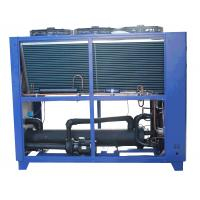 Quality Scroll Compressor Air Cooled Water Chiller Industrial Water Chiller System for sale