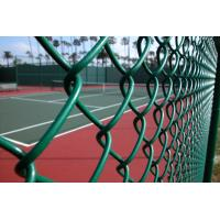 Wholesale ot Dipped Galvanized Chain Link Fence With 35-300G per Square Meter Zinc Coating; PVC Coated Chain Link Fence from china suppliers
