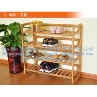 Wholesale Bamboo shoe rack, bamboo shoe rack, wooden simple shoe rack from china suppliers