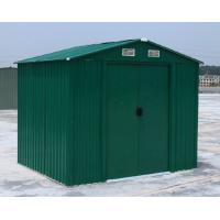 Wholesale Small Colorful Waterproof Apex Metal Shed , Easy Assemble Arrow Storage Sheds from china suppliers