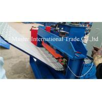 Buy cheap Corrugated Sheet Automatic Pneumatic Crimping Machine With Double Cylinder Cutting from wholesalers