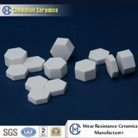 Buy cheap China Manufacturer Supplied Alumina Ceramic Hexagonal Sheet as Wear Resistant Liners from wholesalers