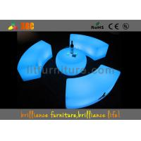 Wholesale LED Plastic Lighting Coffee Table , Waterproof Light Bar Chair from china suppliers