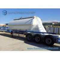 Wholesale Big Capacity 40 M3 Dry Bulk Tank Trailer 3 Axle Container Semi Trailer from china suppliers