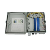 Wholesale White FDB outdoor Fiber Optic Distribution Box CE FTTH network optical distribution box from china suppliers