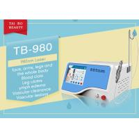 Buy cheap 10ms-100ms Adjustable 980nm Diode Laser Spider Vein Vascular Removal Machine from wholesalers