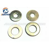 Wholesale Color Plated Flat Washers Plain Carbon Steel Round Head For Iron Stamping Out from china suppliers