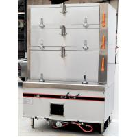 Wholesale Stainless LPG Commercial Gas Cooking Stoves 50KG , Gas Food / Seafood Steamer from china suppliers