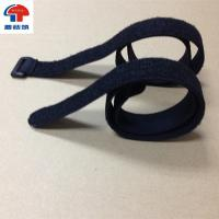 Wholesale Elastic velcro loop belt buckle strap with flexible material from china suppliers
