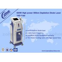 Wholesale 600w Diode Laser Hair Removal Machine with High Power Germany Bars from china suppliers