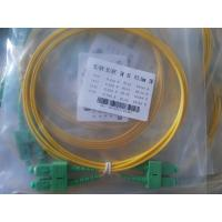Quality 3D Passed Optical Fiber Patch Cables SC/UPC - SC/UPC single mode jumper cord for sale