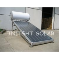 Wholesale 100L Non Pressure Flat Plate Solar Collector Black Chrome Coating Absorber from china suppliers