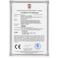 NEWSTAR LED CO., LIMITED Certifications