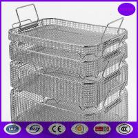 Wholesale wire mesh sterilization basket/Medical Autoclave Tray PRICE from china suppliers