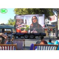 Wholesale HD P4 Advertising Mobile Truck Mount Led Display Digital Billboard Waterproof from china suppliers