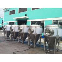 Wholesale Stainless Steel Beer Brewery Insulation Jacket Fermentation Tank from china suppliers